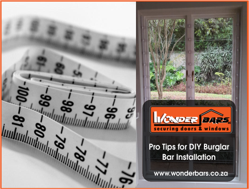 With the right tools, you can install your own burglar bars; Wonderbars shows you how.